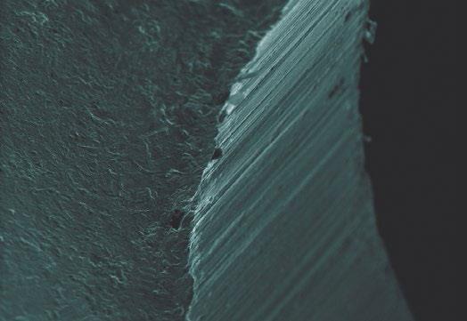 صاویر میکروسکوپی از سطح قطعات قبل و بعد از الکتروپولیش